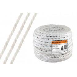 "Ретро провод ""Эко"" 3х2,5 витой ГОСТ белый (20м) | SQ2801-0204 | TDM"