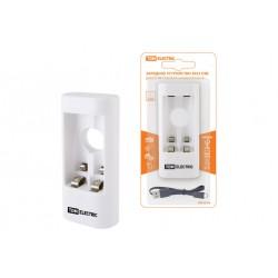 Зарядное устройство 3022 (300 mA 2 слота АА/ААА 1 кан. USB) | SQ1702-0102 | TDM