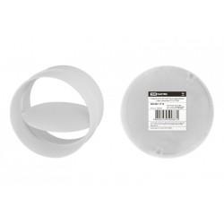 Соединитель для круглых воздуховодов с обр. клапаном, D125 | SQ1807-1714 | TDM
