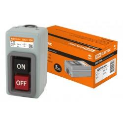 Выключатель кнопочный ВКН-306 3Р 6А 230/400В IP40 | SQ0716-0004 | TDM