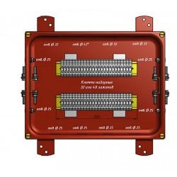 Коробка соединительная КС-40 УХЛ1,5 IP65 металлические заглушки   zeta30356   ЗЭТАРУС (Завод электротехнической арматуры)