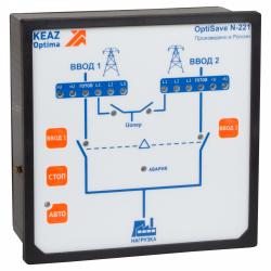 Блок автоматического ввода резерва OptiSave N-221-УХЛ4 | 250695 | КЭАЗ